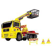 Машинка Dickie Toys Подъемник с воздушной помпой (3805002)
