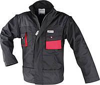 Куртка рабочая, черно-красная, размер S,YATO YT-8020.