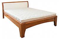 """Кровать деревянная """"Каролина"""" 160х200 см. Бук (черешня античная)"""
