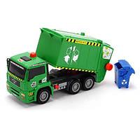 Машинка Dickie Toys Мусоровоз с воздушной помпой, контейнером (3805000)