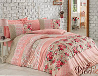 Двуспальное постельное бельё 200х220 Cotton box Ранфорс EMMA SOMON
