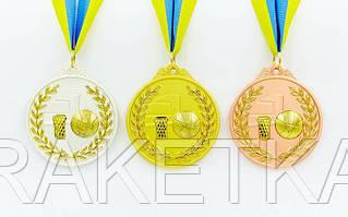 "Медаль спортивная ""Баскетбол"" 6,5 см"