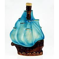 Коньячный набор Парусник (корабль), 4 предмета, фото 1