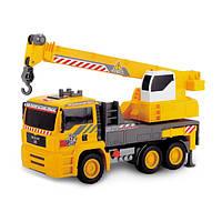 Грузовой автомобиль Dickie Toys с воздушной помпой и краном, 31 см. (3806003)