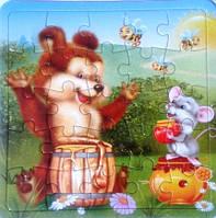 "Пазл животные ""Медвежонок"""