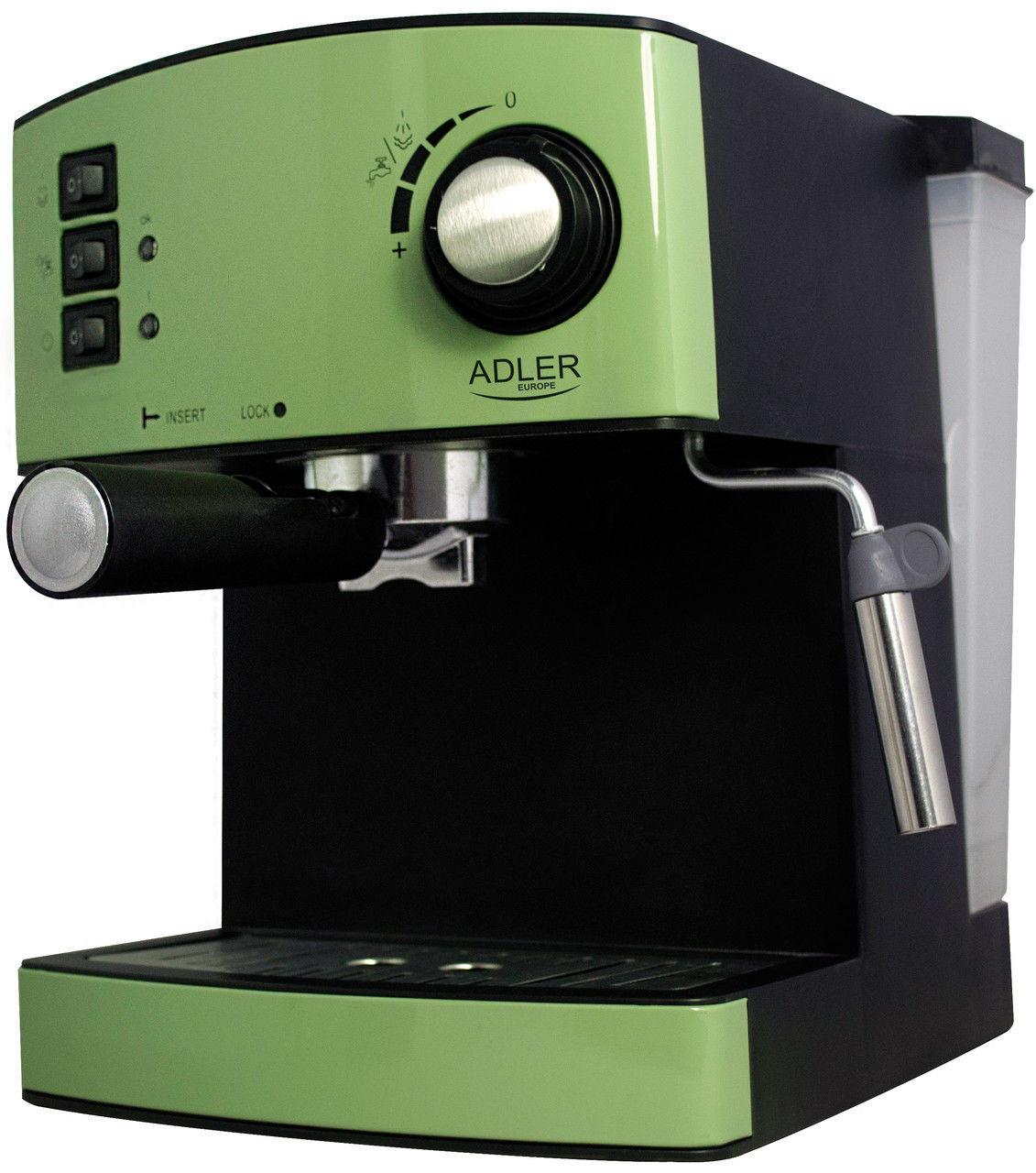 Кофеварка эспрессо Adler AD 4404 green