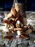 Міцна іграшка для великого папугу (Пеньок), фото 4