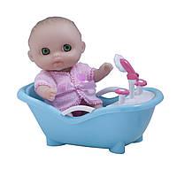 Пупс-малыш с ванночкой 13 см JC Toys (JC16912-3)