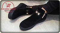Ботинки женские Rendi, замша натуральная