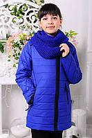 Куртка  демисезонная для девочек, синтепон, размеры 32,34,36,38,40
