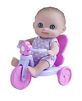 Пупс-малыш с велосипедом 13 см JC Toys (JC16912-5)