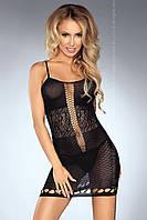 Дразнящее эротическое платье-сетка Graciela от TM Livia Corsetti (Польша) Размер S/L