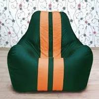 Кресло-пуф СпортБэг Ferarri/ткань микро-рогожка Саванна/Основной чехол