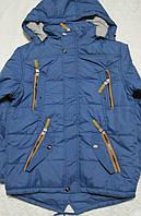 Демисезонная куртка парка для мальчика,рост 134-140см