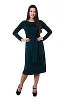 Платье Франческа 0234_5 Тёмно-зелёное