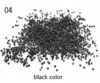 Хрустальная крошка 1440шт полупрозрачная черная