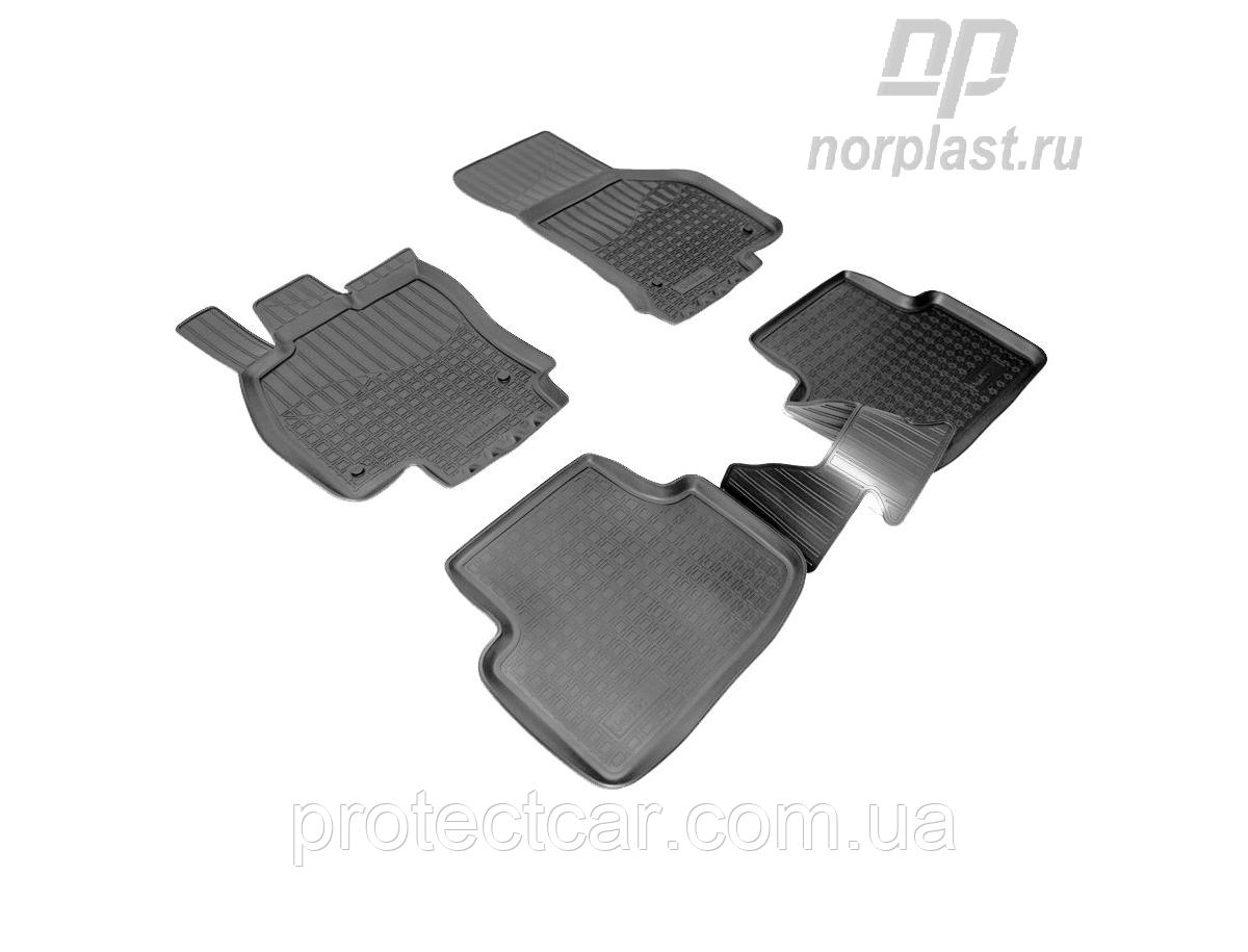 Ковры салонные для Skoda Octavia A7 (c 2013) черные