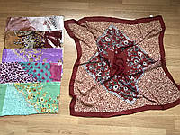 Головной платок из шифона для Свадебных церемоний 85*85 см