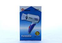 Фен для волос Domotec MS-1410, компактный фен для сушки волос 1400Bт, фото 1