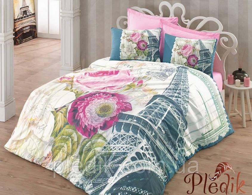 Двуспальное постельное белье 200х220 Cotton box 3D Ранфорс EIFYL MURDUM