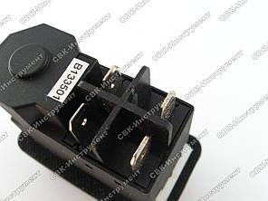 Кнопка бетономешалки / сверлильного станка черная 4 контакта, фото 2