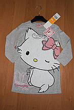 Дитяча нічна сорочка для дівчинок Кітті, 3-8лет
