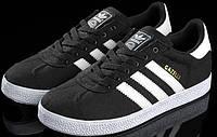 Кроссовки мужские Adidas Gazelle D1083 черные
