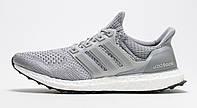 Кроссовки Adidas Ultra Boost Grey/Silver Metallic