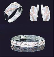 Гарнитур серебряный, фото 1