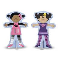Дресс-код - магнитная одевалка, Melissa&Doug