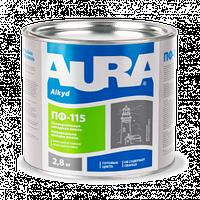 Эмаль AURA ПФ-115 - Универсальная алкидная эмаль для внутренних и наружных работ