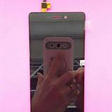 Дисплей для Xiaomi Redmi 3 черный, с тачскрином, фото 2