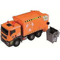 Машинка Dickie Toys Мусоровоз с воздушной помпой и контейнером, 55 см. (3809000)