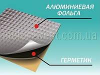 Виброизоляция Гермаст(Викар) ЛТ(фа) 1.5 мм, размер 63 х 60 см