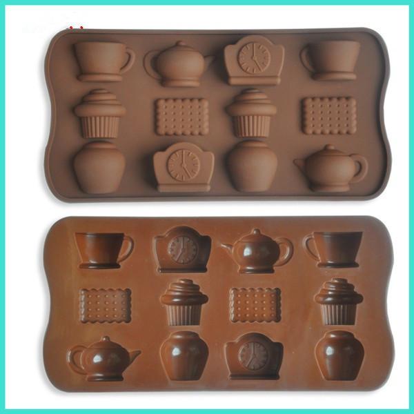 Форма силиконовая Печенье для конфет, мармелада, декора, шоколада