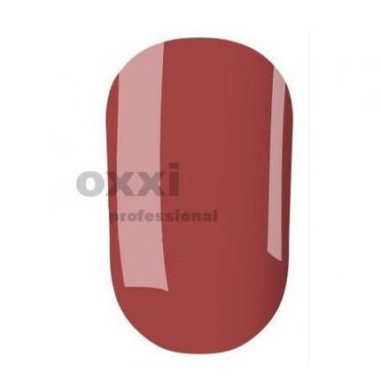 Гель-лак OXXI Professional №138 (Тусклый карминно-красный) 10 мл, фото 2