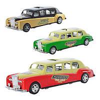 Машинка инерционная Лимузин 595-19-20