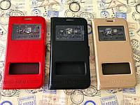 Кожаный чехол книжка Momax для Samsung Galaxy J3 (3 цвета), фото 1