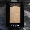 Зажигалка Zippo 204B CLASSIC brushed brass + гравировка на заказ!