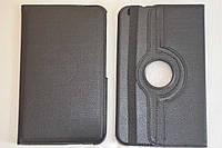 Поворотный 360° чехол-книжка для Samsung Galaxy Tab 3 8.0 T310 T311 T315 (черный цвет)