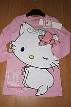 Детская ночная рубашка для девочек Китти, 3, 4, 8 лет