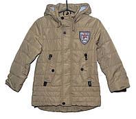 Демисезонная куртка для мальчика 4-8 лет Yixiang Ro серая