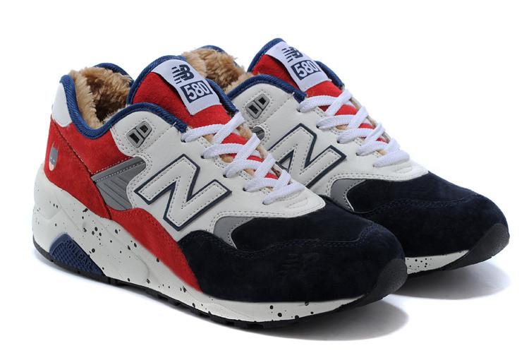 Зимние кроссовки New Balance 580 white - Интернет магазин обуви Shoes-Mania  в Днепре 16bec072e85