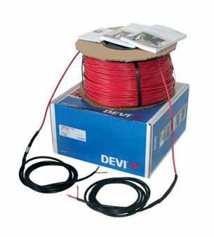 """Нагревательный кабель DSIG Devibasic™ 20T: 192 м ~230 V - """"Energomag"""" в Киеве"""