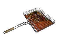 Решётка Гриль/Решётка для барбекю большая, 41х31х6,5 см