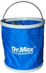 Ведро походное 9л складное непромокаемое Dr.Max