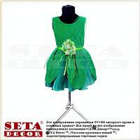 Детские платье фея динь динь зеленое карнавальное