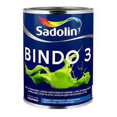 Глубокоматовая краска Sadolin Bindo 3 1л