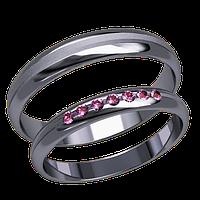 Обручальные кольца тонтие, арт. К 20005