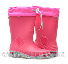 Резиновые сапоги Muflon 23-487 розовые (размеры с 21 по 28)